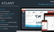 Atlant Bootstrap管理后台 HTML模板