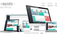 Rapido 管理面板 HTML模板