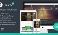 Reva 多用途 HTML模板