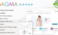 MAGMA 购物商城 Prestashop模板