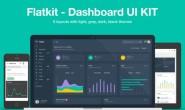 Flatkit扁平管理后台模板 html5网站模板