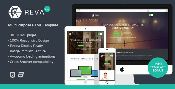 Reva-Multipurpose-HTML-Template